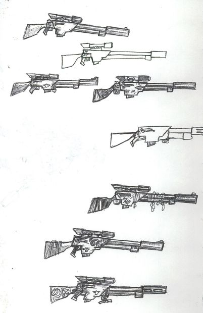 Sniper Rifle Designs