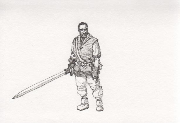 Billy concept sketch